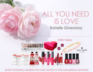 Barielle Love Is All We Need Giveaway