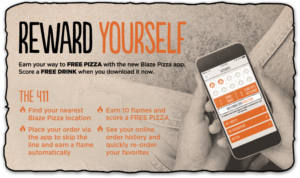 FREE Drink at Blaze Pizza