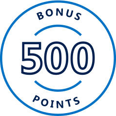 500 FREE Bonus Points