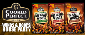 Cooked Perfect Wings & Hoops House Party