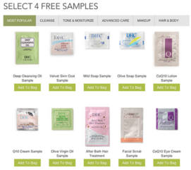 DHC Beauty Samples