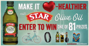 Heart Healthy Sweepstakes