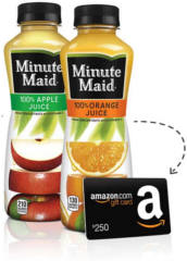 Minute Maid: Juices to Go Instant Win