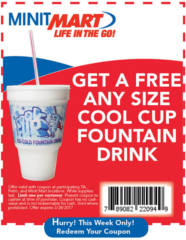 Cool Cup Fountain Drink