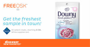 Downy Fresh Protect