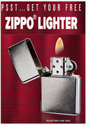 FREE Zippo Lighter from L&M