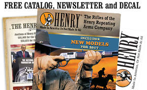Henry Rifles Catalog & Decal