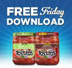 Tostitos has a brand new coupon out now in Save $1 off your purchase today with this printable coupon offer. You can save on two Tostitos Tortilla Chips (any variety, 9oz or larger) and/or Tostitos Dips or Salsa (oz).