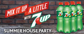 7UP Mix It Up Summer Party Pack
