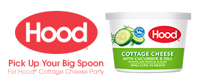 Big Spoon for Hood Cottage Cheese