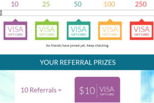 FREE Visa Gift Card for Referring Friends
