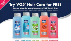 VO5 Shampoo or Conditioner