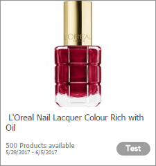 L'Oreal Nail Lacquer Colour Rich with Oil
