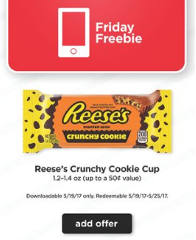 Reese's Crunchy Cookie Cup