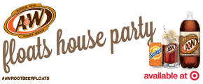 A&W Root Beer Floats House Party