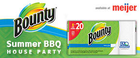 Bounty Summer BBQ House Party