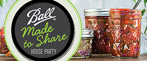 Ball Canning Made to Share