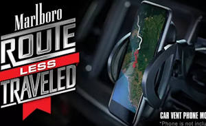 FREE Car Vent Phone Mount from Marlboro