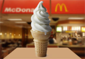 FREE Soft Serve Cone at McDonald's
