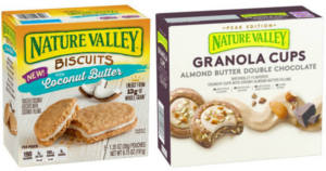 Nature Valley Biscuits or Granola