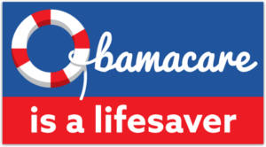 Obamacare Is a Lifesaver Sticker
