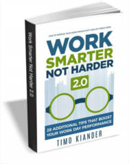 Work Smarter Not Harder 2.0 Book