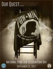 FREE 2017 National POW/MIA Recognition Day poster