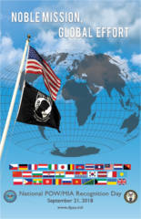 FREE 2018 National POW/MIA Recognition Day Poster