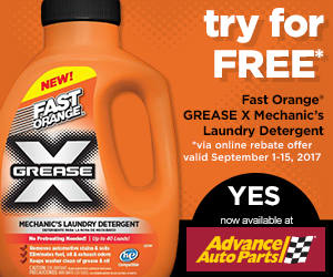 Fast Orange Grease-X Laundry Detergent
