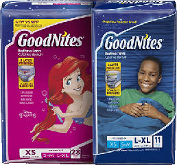 GoodNites NightTime Underwear