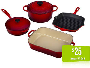 Le Creuset Sweepstakes