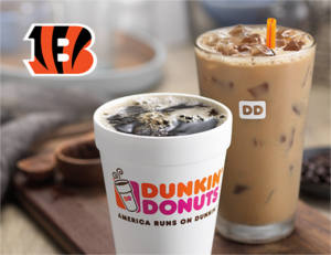 FREE Hot or Iced Coffee at Dunkin' Donuts