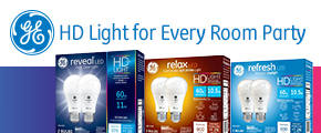 GE HD Light for Every Room House Party