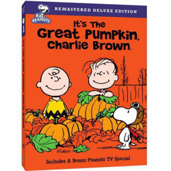 FREE It's The Great Pumpkin, Charlie Brown DVD