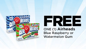 FREE Airheads Gum at Dollar General