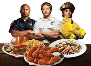 First Responders Eat FREE at Hooters!