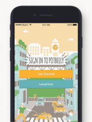 Potbelly Sandwich Shop App