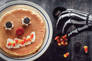 FREE Scary Face Pancake for Kids at IHOP on Halloween