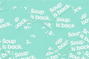 FREE Soup is Back Stickers