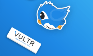 FREE Stickers from Vultr