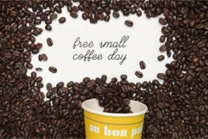 FREE Small Hot Coffee at Au Bon Pain