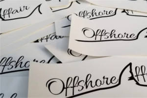 FREE Offshore Affair Stickers