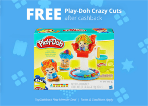 FREE Play-Doh Crazy Cuts set from Walmart
