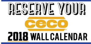 FREE 2018 CECO Texas–Sized Calendar