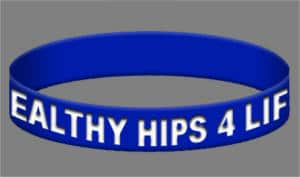 FREE Healthy Hips 4 Life Wristband