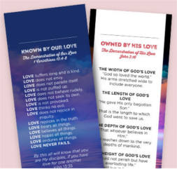 FREE Love Changes Everything Bookmark