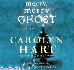 FREE Merry, Merry Ghost by Carolyn Hart Audiobook Download