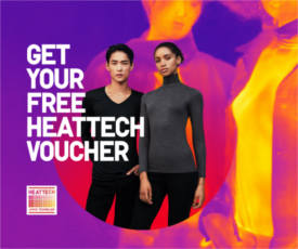 FREE Uniqlo Heattech Shirt at Uniqlo