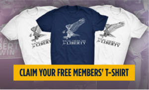FREE Young Americans for Liberty T-shirt