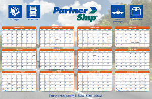 FREE 2018 PartnerShip Calendar
